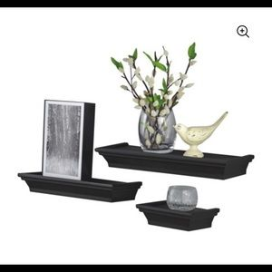 Mainstays 3-Piece Decorative Shelf Set